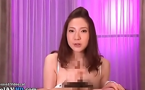 Busty Japanese shows regardless how to boob fuck