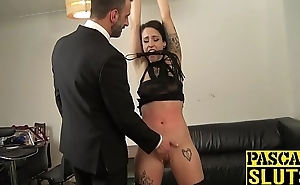 Playful Lilyan White-hot submits close by big cock penetration