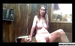 Mature milf housewife teasing on webcam - Join hotcamgirls69.com for free brook camgirls